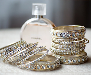 bracelet, chanel, and perfume image