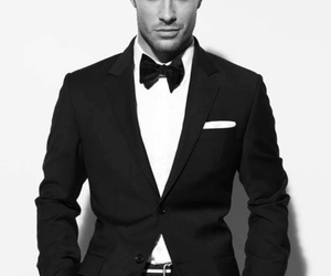 suit, sexy, and Hot image