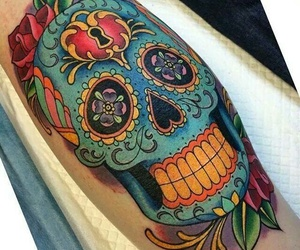 colors, tattoo, and tatuage image