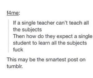 school, tumblr, and funny image