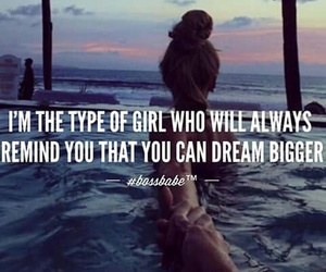 quote, Dream, and girl image