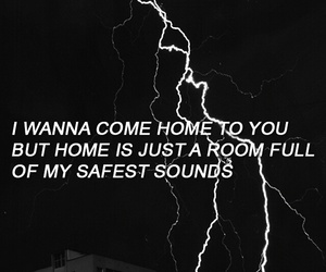 troye sivan, talk me down, and Lyrics image