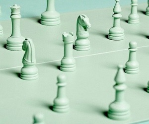 aesthetic, green, and chess image