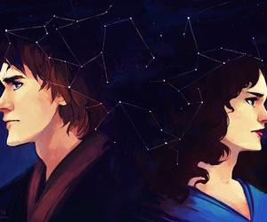 Anakin Skywalker, padme amidala, and love image