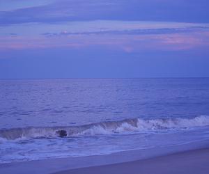 beach, blue, and city image