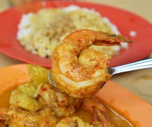 curry, prawn, and singaporean food image