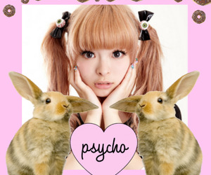 bunny, donuts, and edit image