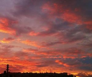 beautiful, burning, and calm image