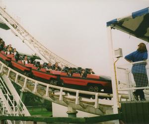 vintage, indie, and Roller Coaster image