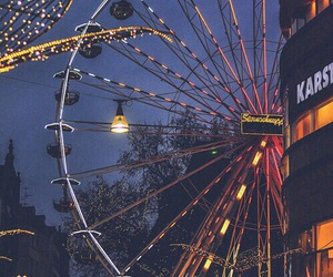ferris wheel, germany, and lights image
