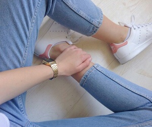 aesthetic, hands, and jeans image