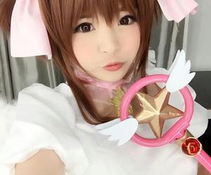 anime, card, and cosplay image