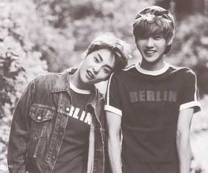 exo, xiumin, and luhan image