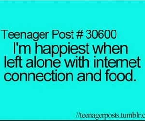 food, internet, and teenager post image