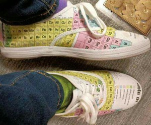 chemistry, shoes, and fashion image
