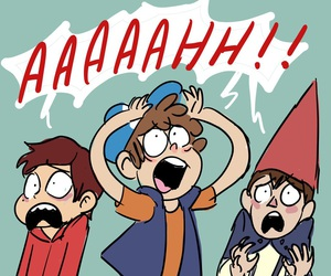 gravity falls, wirt, and dipper image