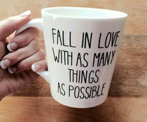 love, cup, and quote image