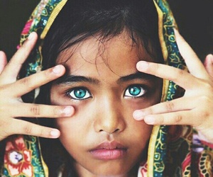 eyes, blue, and child image