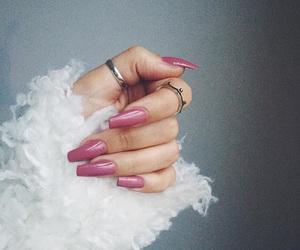 baby pink, fur, and kawaii image