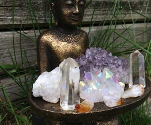 Buddha, crystal, and images image