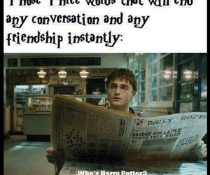 harry potter, friendship, and funny image
