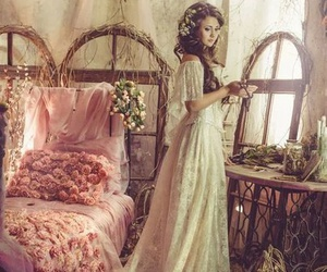 fantasy, flowers, and fairy image