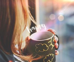 coffee, happy, and starbucks image