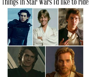 Anakin Skywalker, funny, and han solo image