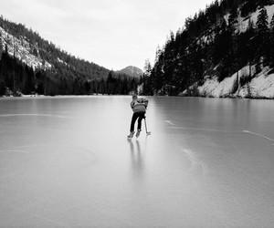 ice, hockey, and mountains image