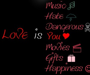 love is, nice, and love is you image