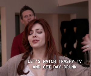 pale, tv serie, and drunk image