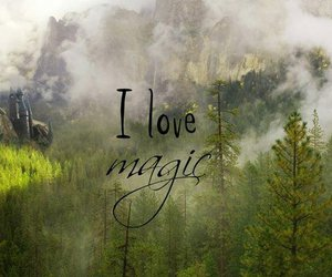 magic, harry potter, and book image