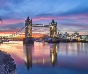 city, london, and towerbridge image