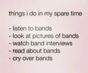 bands and spare time image