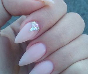 claw, gems, and manicure image