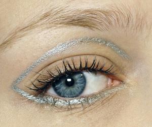 makeup, eye, and blue image