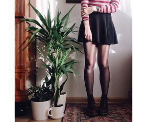 dr martens, girl, and outfit image