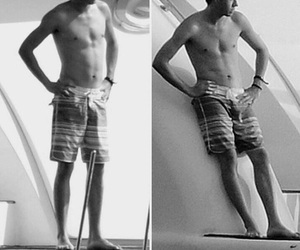 dividida, niall horan, and black+and+white image