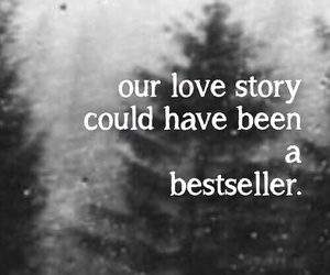 love life, love story, and quotation image