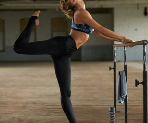 candice swanepoel, dance, and fitness image
