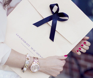 watch, girl, and bracelet image