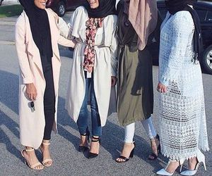 hijab and feet image