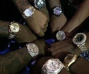 watch, squad, and luxury image