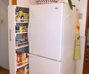 diy, fridge, and kitchen image