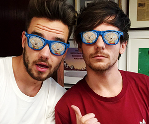 1d, louis tomlinson, and liam payne image