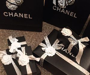bags, black, and boxes image