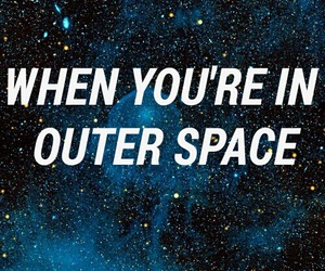 galaxy, Lyrics, and outer space image