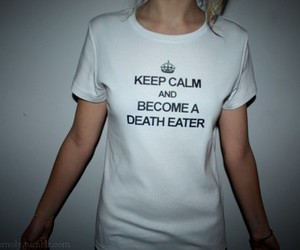 harry potter, death eater, and keep calm image