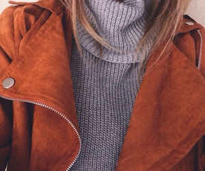 blonde, fashion, and jumper image