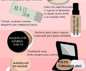 makeup, maquillaje, and spanish image